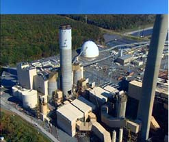 Brandon Shores Generating Station With Newly Installed Scrubbers Constellation Energy Baltimore, Maryland Courtesy of Constellation Energy